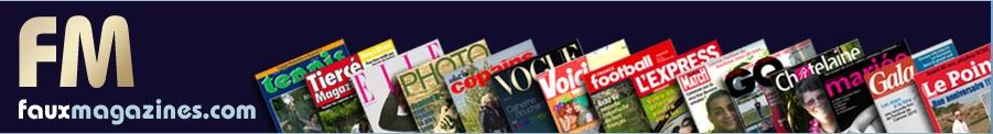 Offrez une couverture de magazine personnalisée !