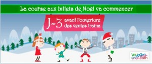 Promo de Noël – Voyages SNCF
