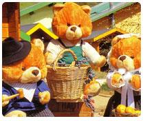 Le village des ours pour Noël